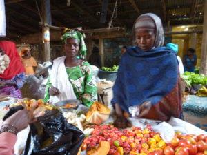 Marked i Kafountine